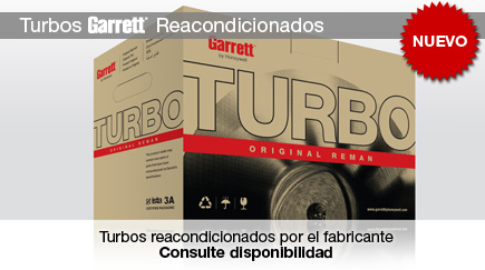 Turbos Garrett Reacondicionados