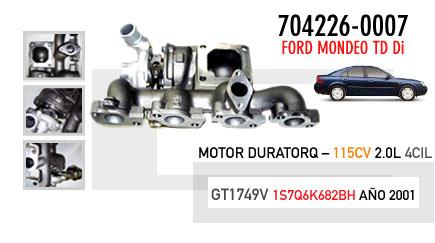 Nuevo Mondeo TD Di - Motor Duratorq