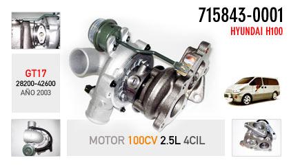 Nuevo Hyundai H100 - Motor 100CV