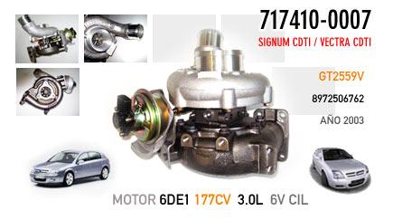 Nuevo Opel Signum CDTI y Vectra CDTI Motor 3.0/V6