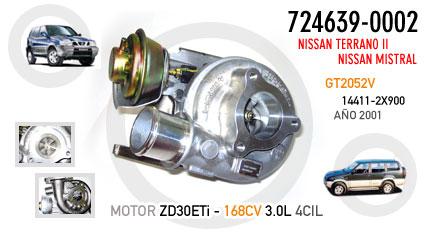 Nuevo Nissan Terrano II, Mistral - Motor ZD30ETi