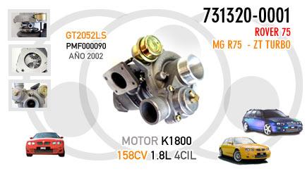 Nuevo Rover 75, MG R75 y ZT Turbo - Motor K1800