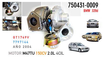 Nuevo 320d, motor M47TU