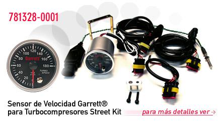 Sensor de Velocidad Garrett® para Turbocompresores Street Kit