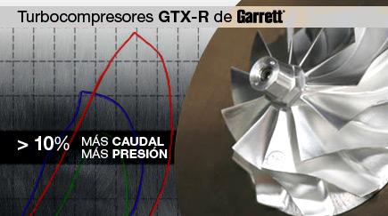 Turbos GTX-R de Garrett®