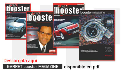 Descarga GARRET booster MAGAZINE