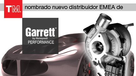 TurboMaster nombrado nuevo distribuidor para EMEA de Garrett Performance