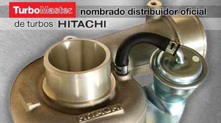TurboMaster nombrado distribuidor oficial Hitachi