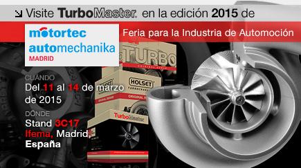 TurboMaster en la Feria Internacional Motortec