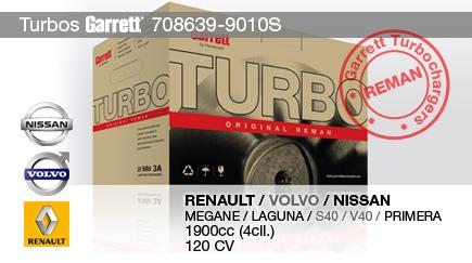 Nuevo Reman 708639-9010S para RENAULT, VOLVO  y NISSAN