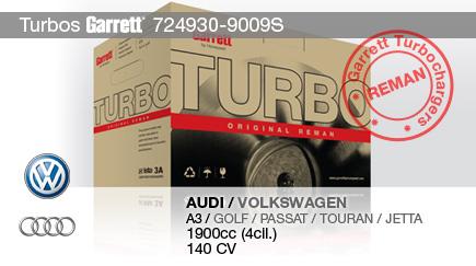 Nuevo Reman 724930-9009S para AUDI y VOLKSWAGEN
