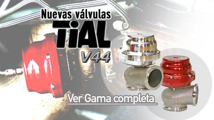 Nuevas válvulas TiAl V44