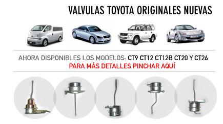Valvulas Toyota Originales Nuevos
